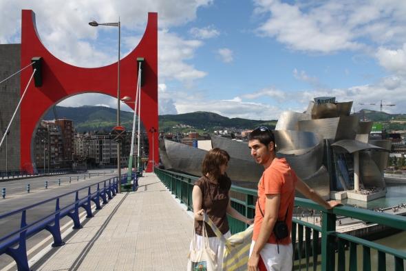 In Bilbao.
